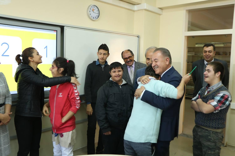 Şehit Sertaç Uzun Mesleki Ve Teknik Anadolu Lisesi Bünyesinde Bulunan Özel Eğitim Sınıfına Ziyaretimizi Gerçekleştirdik.