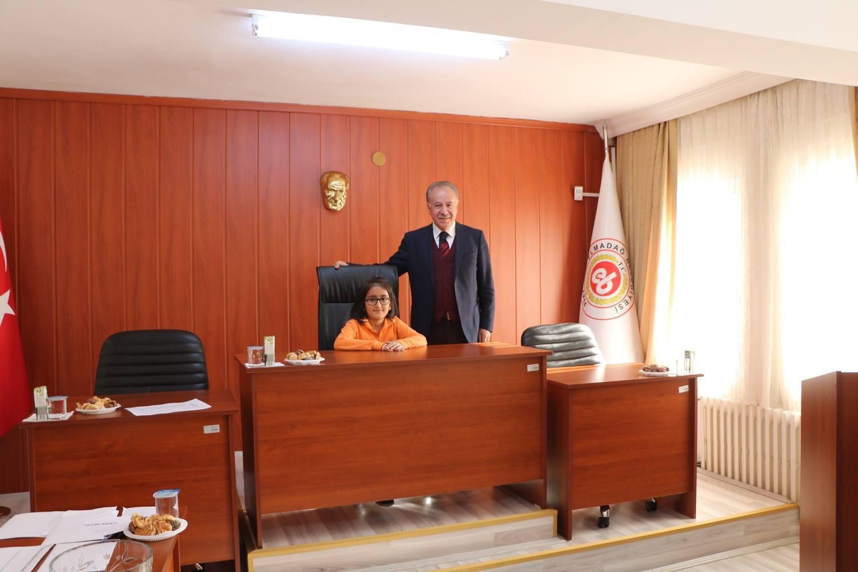 Belediyemizin Çocuk Meclisi 10.Dönem 1.Birleşimde Meclis Başkanı Seçimi Gerçekleştirildi.