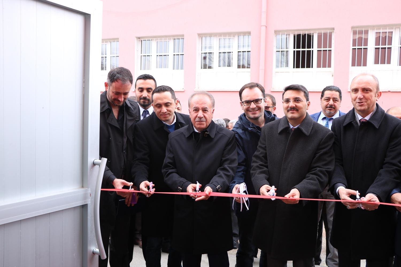 Gümüşpala İlkokulu Spor Salonu Açılışı