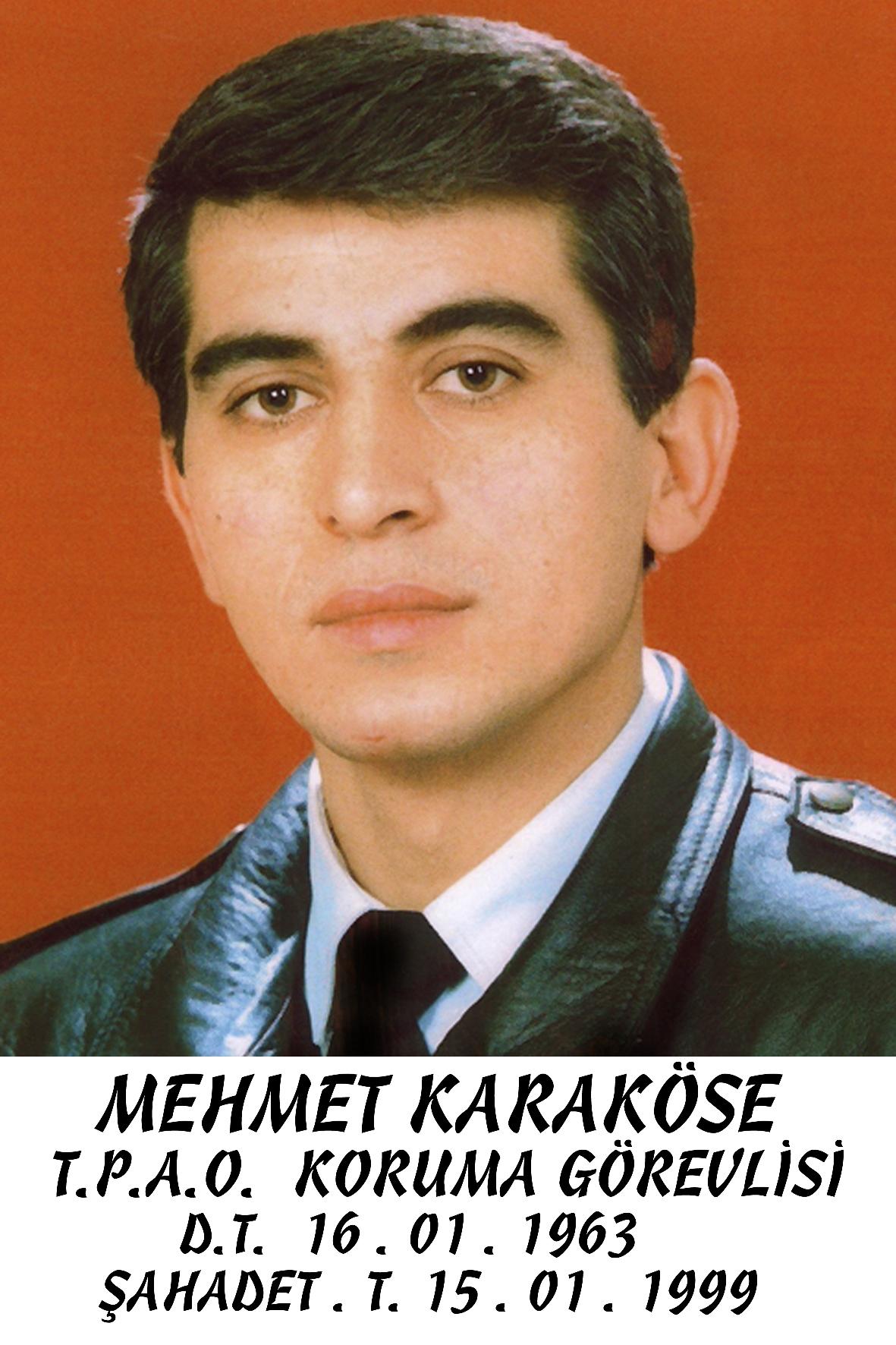 MEHMET KARAKÖSE