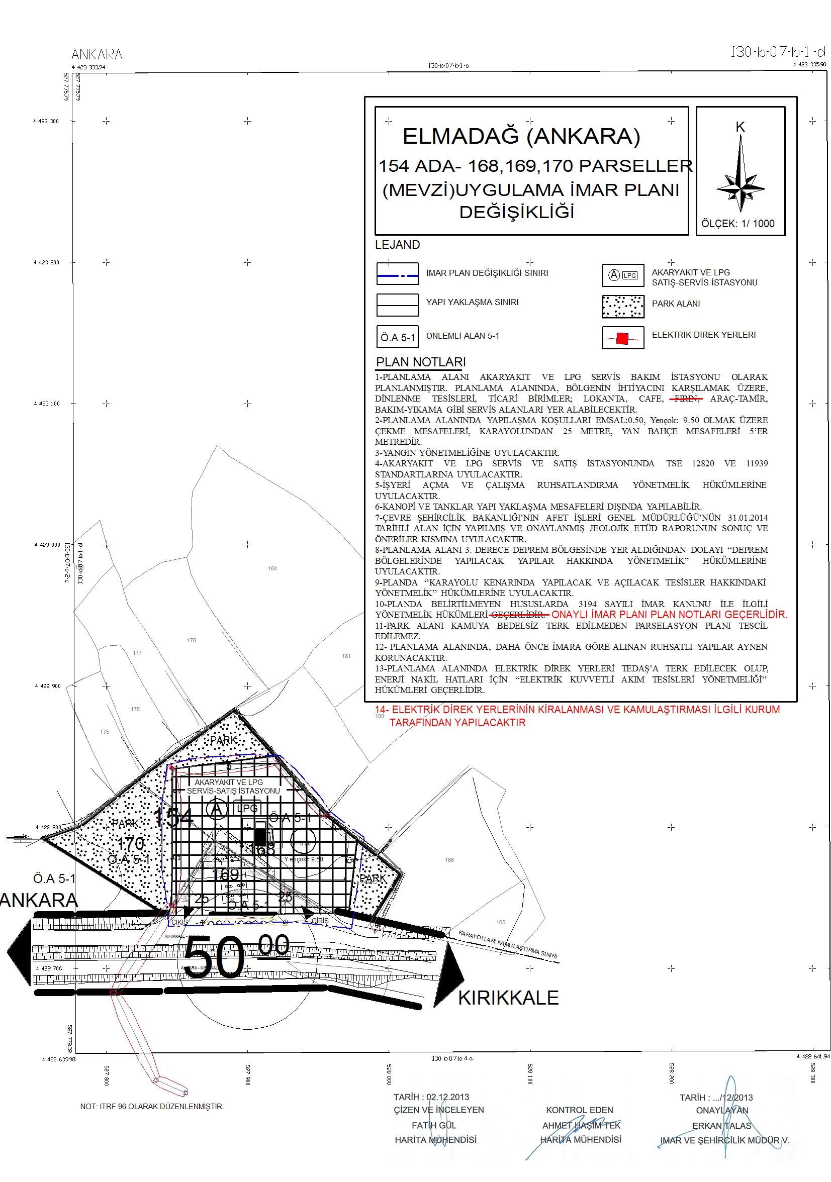 Kayadibi Mahallesi 154 Ada 206 nolu Parsel Hk.