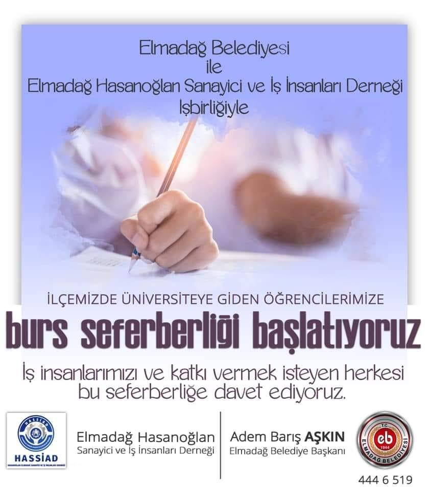 İLÇEMİZDE BURS SEFERBERLİĞİ BAŞLATIYORUZ...
